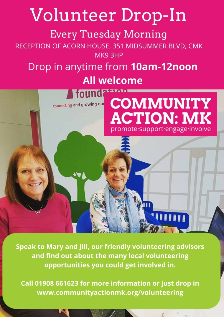 Our Volunteer Drop In day is changing. From Tuesday 24th October we will be running every Tuesday. Drop in anytime from 10am (2)