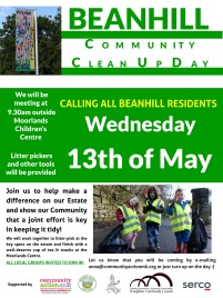 Beanhill Clean Up Day poster_draft1 - Poster-Green (1)