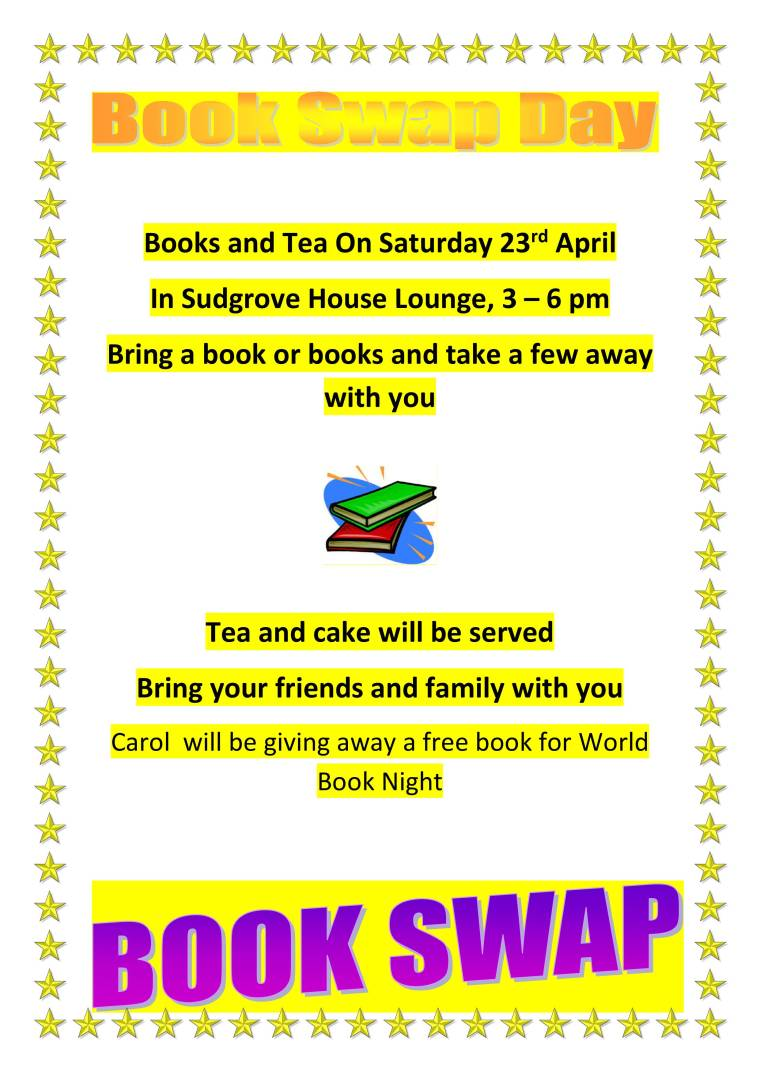 Books and Tea On Saturday 23rd April