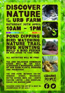 Discover Nature at the Urb Farm