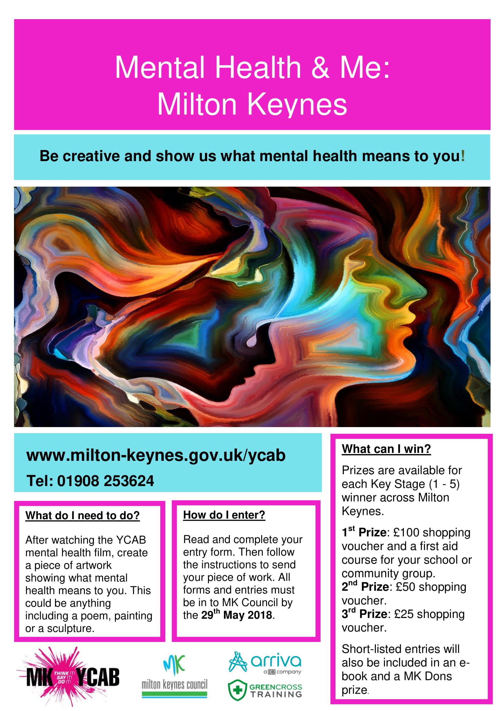 Milton Keynes Youth Cabinet Mental Health And Me Competition COMMUNITY ACTION MK